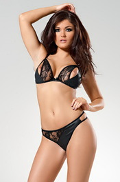 Lingerie Model India Reynolds 03