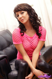 Andi Strips At Home 00