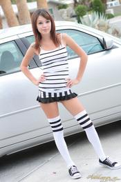 Ashley Doll In Striped Set 00