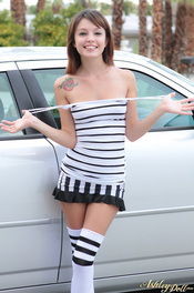 Ashley Doll In Striped Set 02