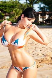 Denise Busty Beach Babe 05