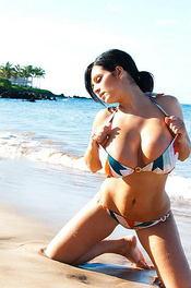 Denise Busty Beach Babe 10