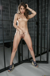 Riley Reid Gets Nude In The Prison 12