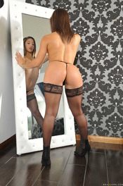 Booty Babe Abella Danger In Sexy Black Lace 03