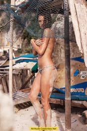 Alyssa Arce Topless And Bottomless 02