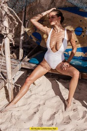 Alyssa Arce Topless And Bottomless 05