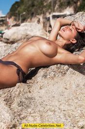 Alyssa Arce Topless And Bottomless 08