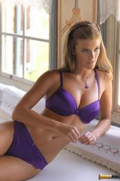 Gorgeous Nina Agdal In Sexy Lingerie 08