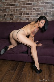 Hot Latina Dana Vespoli In Sexy Pantyhose 14