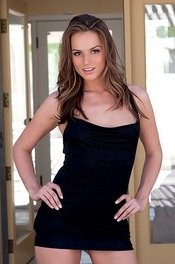 Free Girl Tori Black Strips Out Of Her Tiny Slutty Black Dress 00