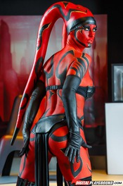 Erotic Jedi Knight Kleio Valentien Strips 01