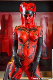 Erotic Jedi Knight Kleio Valentien Strips 08