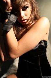 Beauty Brunette Nina James  03