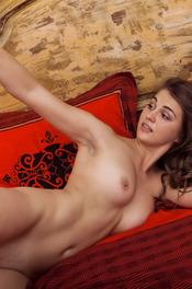 Beautiful Brunette Girl Bella Libre Spreads Her Legs 13