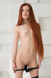 Petite Redhead Teen Bailey R. 08