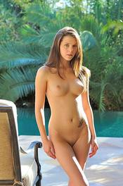 Hot Young Kiara Stripping Outdoor 12