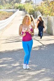 Krissy Jogging After Sex 02
