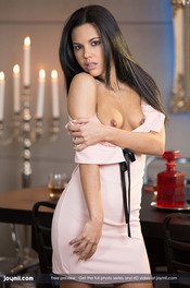 Apolonia Makes Love With Antonio On The Dining Table 01
