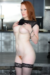 Redhead Babe Lucy Ohara Likes Playing With Her Red Dildo 07