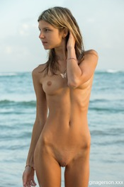 Naked By The Ocean 07