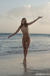 Naked By The Ocean 08