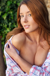 Sexy Burnette Sybil A Nude Posing 03
