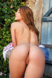 Sexy Burnette Sybil A Nude Posing 11