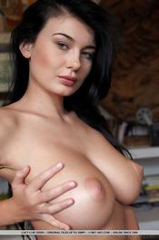 Lucy Li Shows Her Big Boobs 13