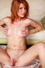 Redhead Hottie Mia Sollis Strips To Naked 06