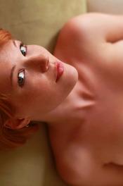Redhead Hottie Mia Sollis Strips To Naked 08