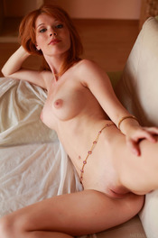 Redhead Hottie Mia Sollis Strips To Naked 19