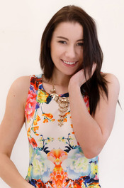 Meet Aiko Bell, Gorgeous, Raven-haired And Wrapped In A Tight Little Summer Dress 02