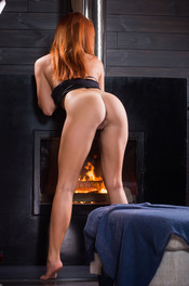 Sexy Ukrainian redhead Michelle H looks hot in every sense of the word 06