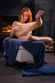 Sexy Ukrainian redhead Michelle H looks hot in every sense of the word 07