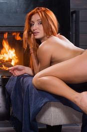 Sexy Ukrainian redhead Michelle H looks hot in every sense of the word 10