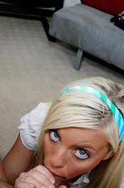Brittney Amber Sucks Cock 12