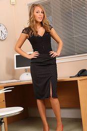 Hot Secretary Stripping 00