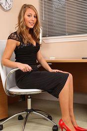 Hot Secretary Stripping 02