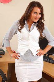 Beauty Secretary Sexy Stripping 00
