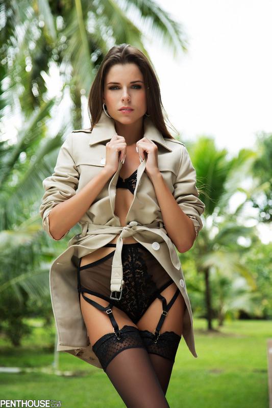 Aleksa Slusarchi In Sexy Lingerie 00