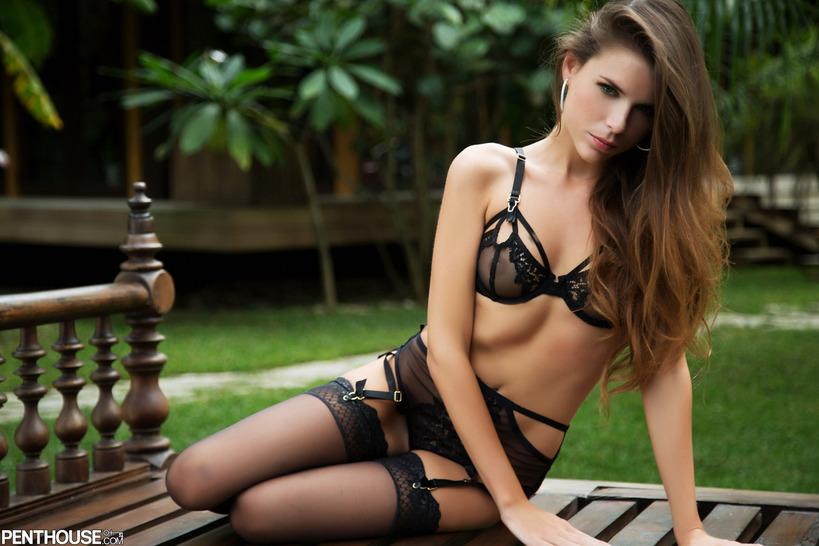 Aleksa Slusarchi In Sexy Lingerie 06