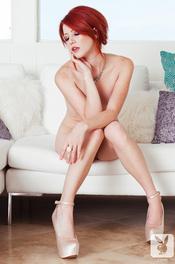 Beauty Redhead Playboy Amateur Elle Alexandra 08