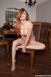 Hot Ginger Playboy Girl Caitlin McSwain 12
