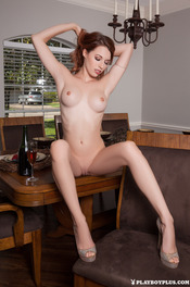 Hot Ginger Playboy Girl Caitlin McSwain 13