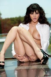 Sunny Leone pussy wide open 12