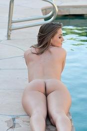 Naked Tori Black Masturbates By The Pool 03