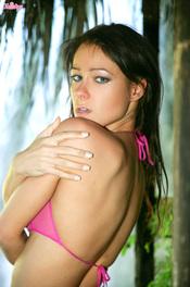 Melisa Mendiny Peels Off Her Skimpy Bikini 04