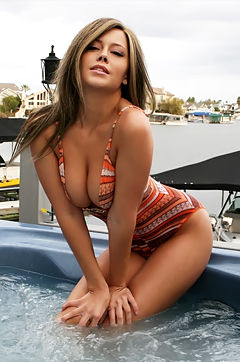 Brooke Lima Hot Tub