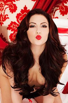 Cassie Laine Sexy Valentines Day