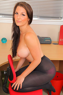 Eva N In The Office